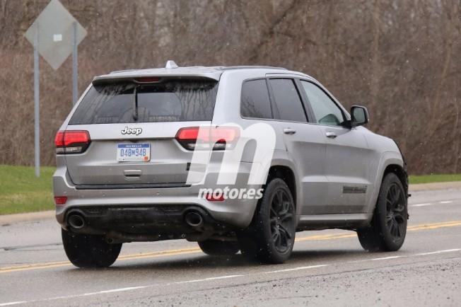 Jeep Grand Cherokee Trackhawk 2018 - foto espía