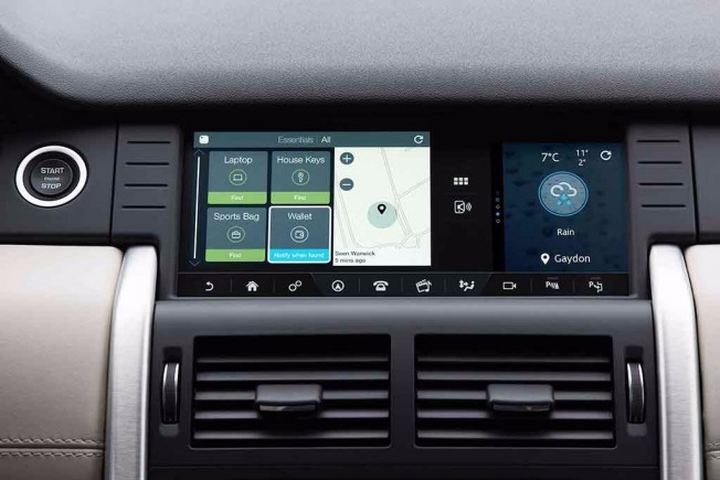 Land Rover Discovery Sport App Tile Bluetooth