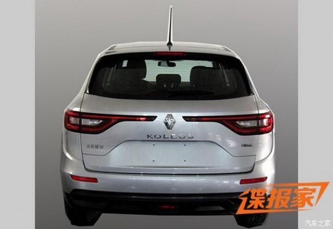 Renault Koleos 2016 - filtración