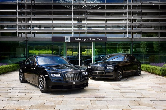 Rolls-Royce Wraith y Ghost Black Badge