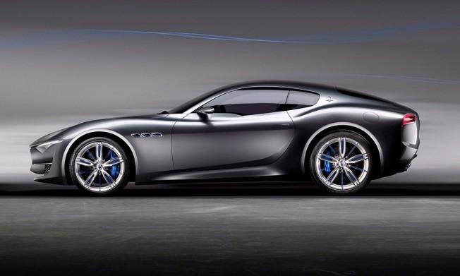 Maserati Alfieri Concept - lateral