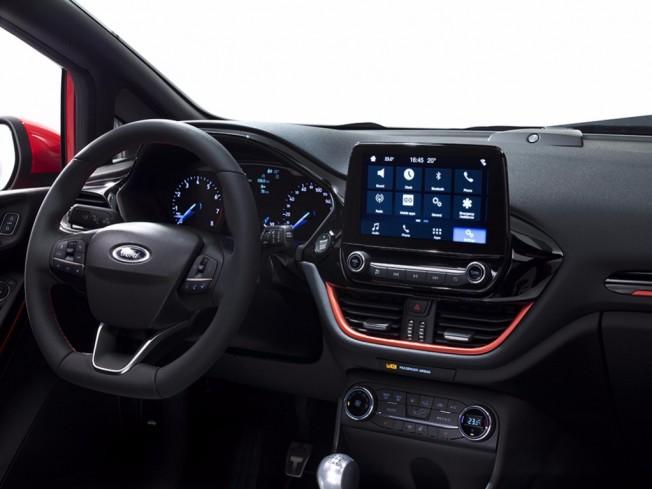 Ford Fiesta 2017 - interior