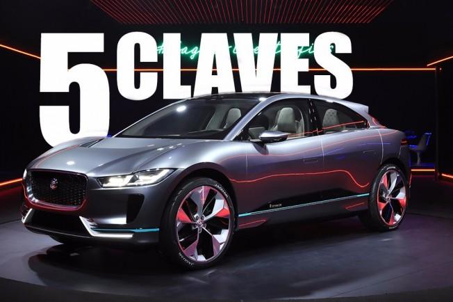 Jaguar I-Pace Concept - claves