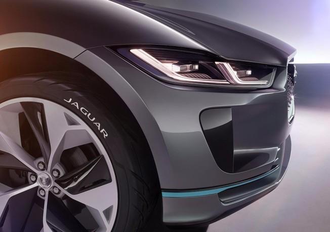 Jaguar I-Pace Concept - frontal