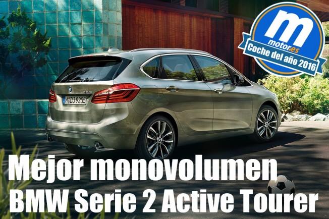 Mejor Monovolumen 2016 Para Motores Bmw Serie 2 Active Tourer