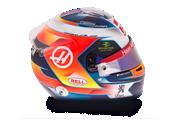 Casco de Romain Grosjean