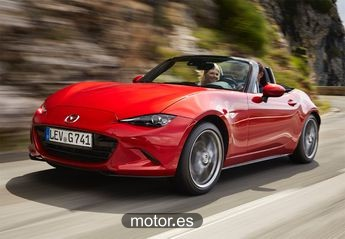Mazda MX-5 MX-5 2.0 i-Stop i-Eloop Zenith Sport Soft Top nuevo