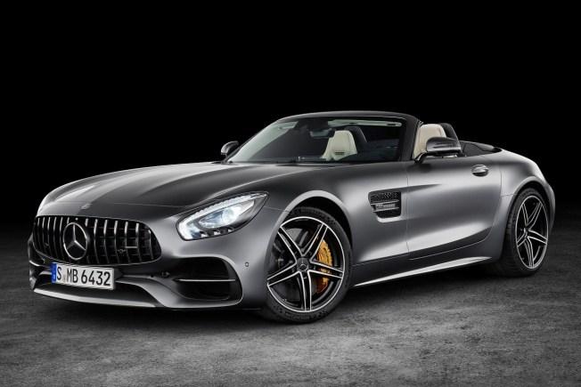 Mercedes AMG GT Roadster