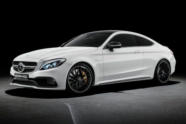 Mercedes Clase C Coupé AMG