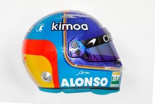 F1 2018: los cascos