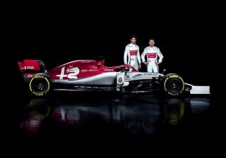 Fotos Alfa Romeo C38 F1 2019