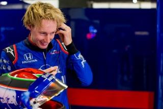 Fotos Brendon Hartley F1 2018