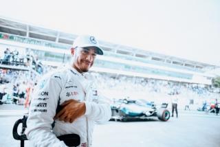 Fotos celebración Mercedes Mundial F1 2018 - Foto 1