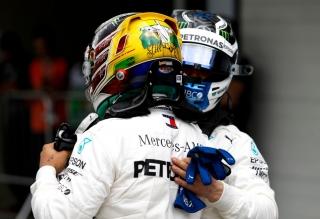 Fotos celebración Mercedes Mundial F1 2018 - Foto 3