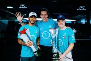 Fotos celebración Mercedes Mundial F1 2018 - Foto 4