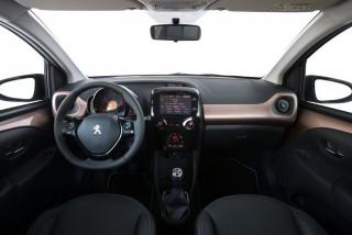 Fotos comparativa Fiat Panda y Peugeot 108 Foto 12