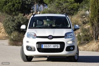 Fotos comparativa Fiat Panda y Peugeot 108 Foto 15