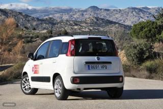 Fotos comparativa Fiat Panda y Peugeot 108 Foto 17