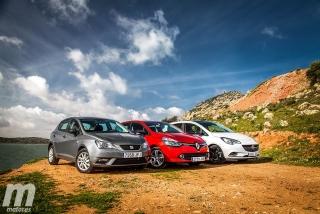 Foto 4 - Fotos Comparativa de utilitarios: Opel Corsa, Renault Clio, Seat Ibiza