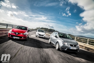Foto 2 - Fotos Comparativa de utilitarios: Opel Corsa, Renault Clio, Seat Ibiza