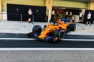 Fotos test Abu Dhabi F1 2018 Foto 13