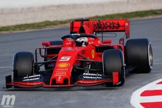 Fotos día 1 test Barcelona F1 2019 - Foto 4