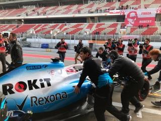 Fotos día 4 test Barcelona F1 2019 - Foto 6