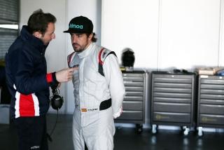 Fotos Fernando Alonso 24 Horas de Daytona 2018 Foto 22