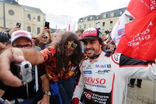 Fotos Fernando Alonso 24 Horas de Le Mans 2018 Foto 5