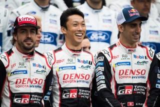Fotos Fernando Alonso 24 Horas de Le Mans 2018 Foto 8