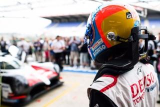Fotos Fernando Alonso 24 Horas de Le Mans 2018 Foto 17