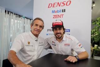 Fotos Fernando Alonso 24 Horas de Le Mans 2018 Foto 40