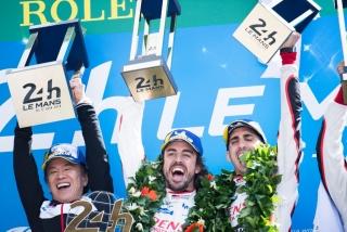 Fotos Fernando Alonso 24 Horas de Le Mans 2018 Foto 61