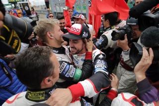 Fotos Fernando Alonso 24 Horas de Le Mans 2018 Foto 74