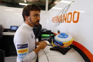 Fotos Fernando Alonso F1 2017 Foto 35