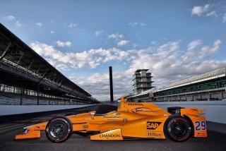 Foto 1 - Fotos Fernando Alonso Indy 500