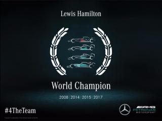 Fotos Lewis Hamilton Campeón del Mundo F1 2017 Foto 18