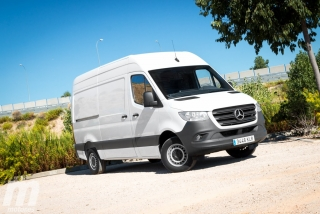 Fotos Mercedes Sprinter 2018