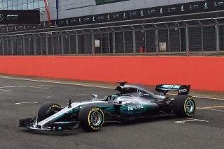 Fotos Mercedes W08 F1 2017 Foto 11
