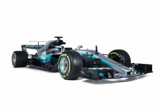 Fotos Mercedes W08 F1 2017 Foto 17