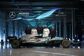Fotos Mercedes W09 F1 2018