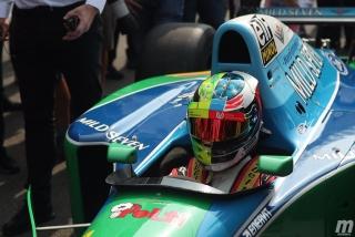 Fotos Mick Schumacher Benetton B194 F1 Bélgica Foto 5