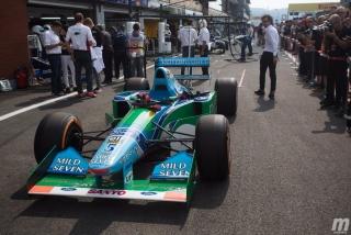 Fotos Mick Schumacher Benetton B194 F1 Bélgica Foto 3