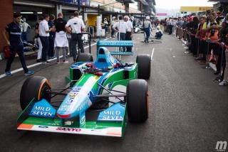 Fotos Mick Schumacher Benetton B194 F1 Bélgica Foto 17