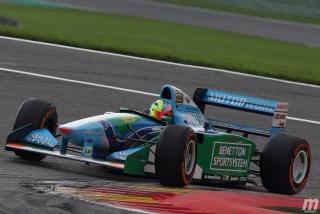 Fotos Mick Schumacher Benetton B194 F1 Bélgica Foto 1