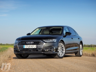 Fotos prueba Audi A8 2018 Foto 1