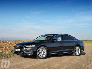 Fotos prueba Audi A8 2018 Foto 6
