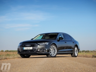 Fotos prueba Audi A8 2018 Foto 7