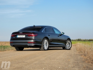 Fotos prueba Audi A8 2018 Foto 8