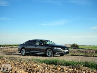 Fotos prueba Audi A8 2018 Foto 12